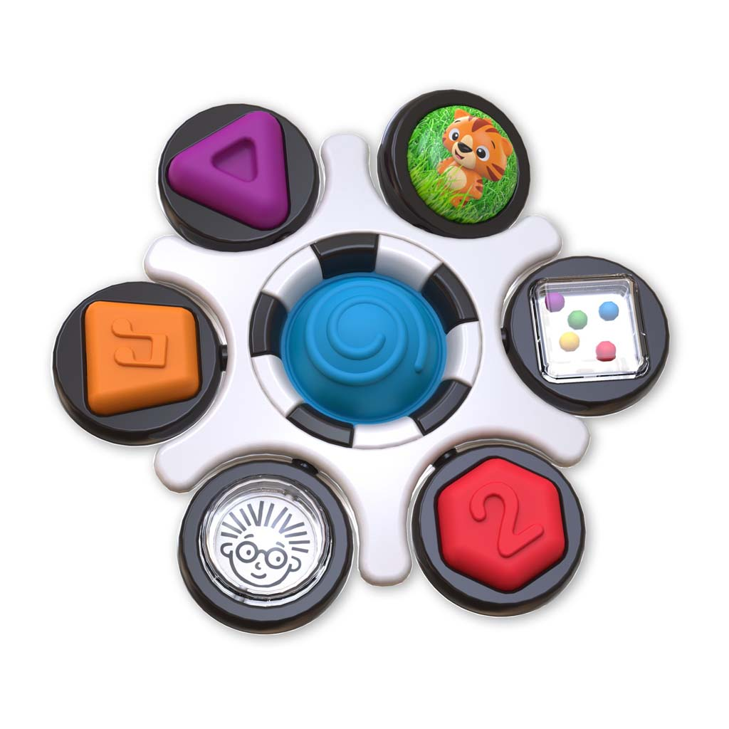 BABY EINSTEIN Hračka senzorická Curiosity Clutch™ 3m+