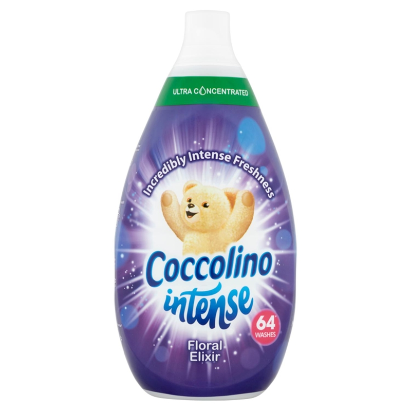COCCOLINO Intense Floral Elixir super koncentrovaný avivážny prípravok 64 praní 960 ml