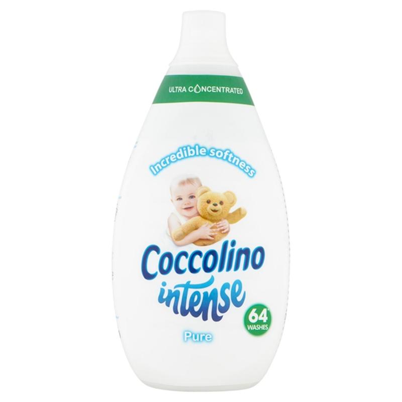 COCCOLINO Intense Pure super koncentrovaný avivážny prípravok 64 praní 960 ml