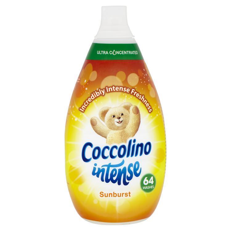 COCCOLINO Intense Sunburst super koncentrovaný avivážny prípravok 64 praní 960 ml