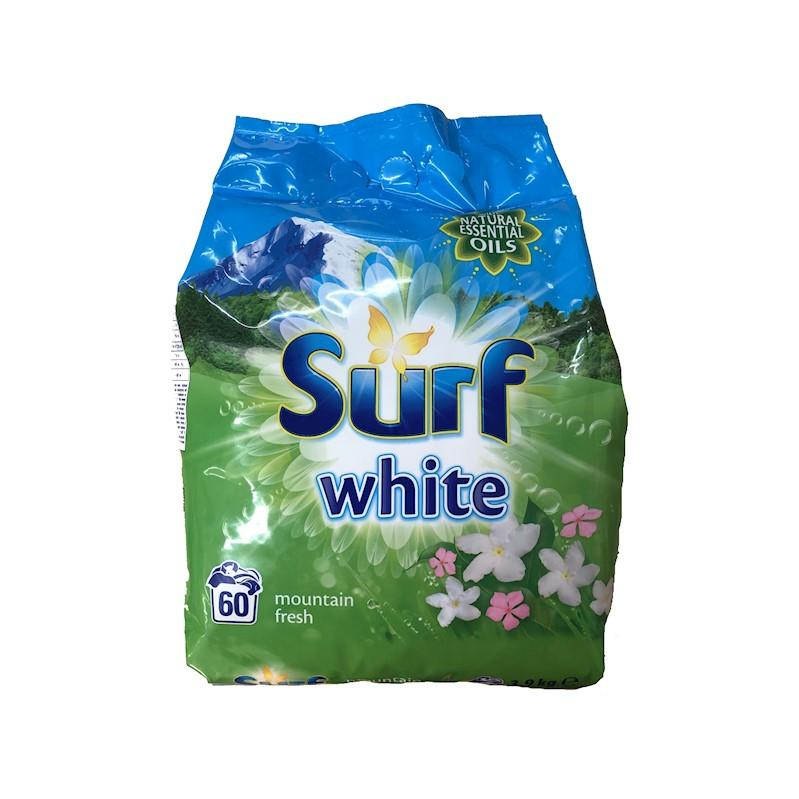 SURF White White Orchid & Jasmine prášok na pranie 60 praní