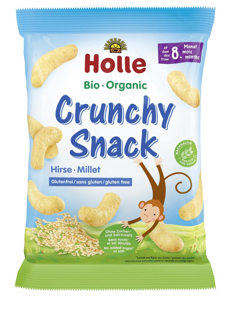 HOLLE Bio organické chrumky pšenové s mangom 25 g