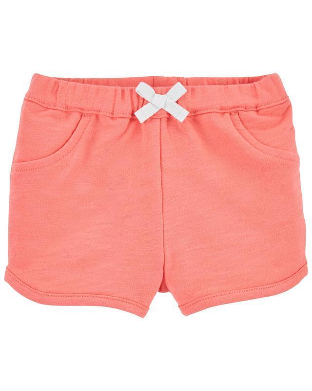 CARTER'S Nohavice krátke Pink dievča 12 m, vel. 80