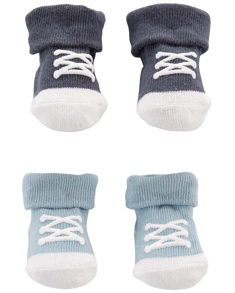 CARTER'S Ponožky chlapec LBB 2 páry NB