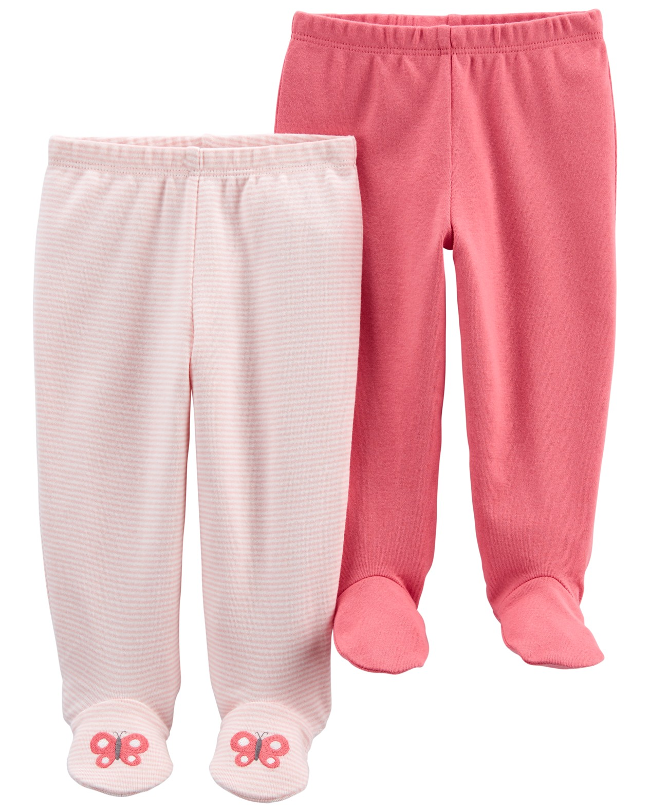 CARTER'S Polodupačky Pink dievča LBB 2ks NB, veľ. 56