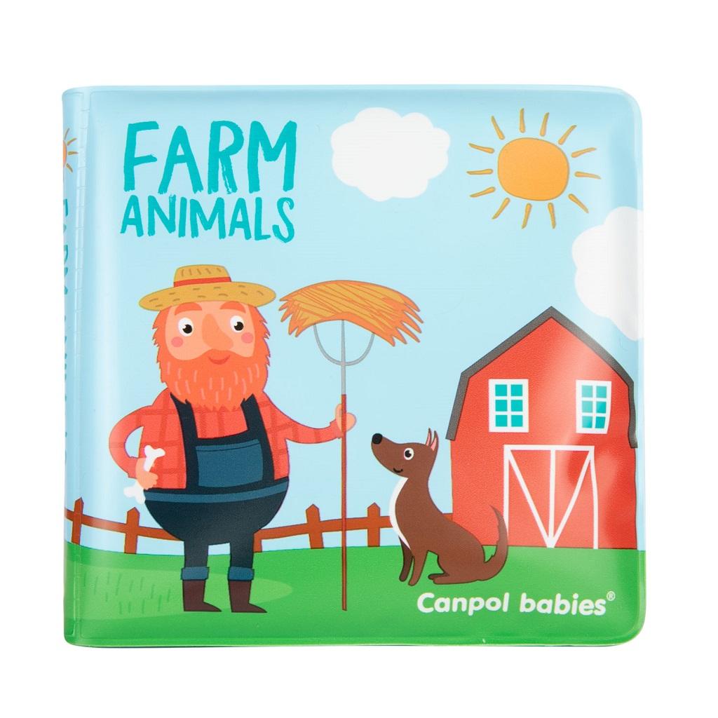 CANPOL BABIES Mäkká knižka pískacia - lev