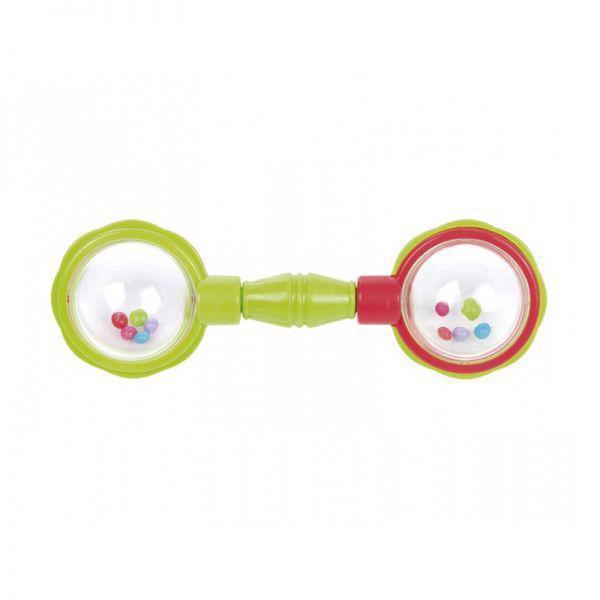 CANPOL BABIES Hrkálka loptičky na činke - zelená