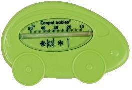 CANPOL BABIES Teplomer kúpací auto - zelená