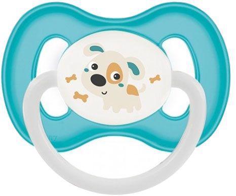 CANPOL BABIES Cumlík kaučukový čerešnička 6-18m Bunny & Company - tyrkysová