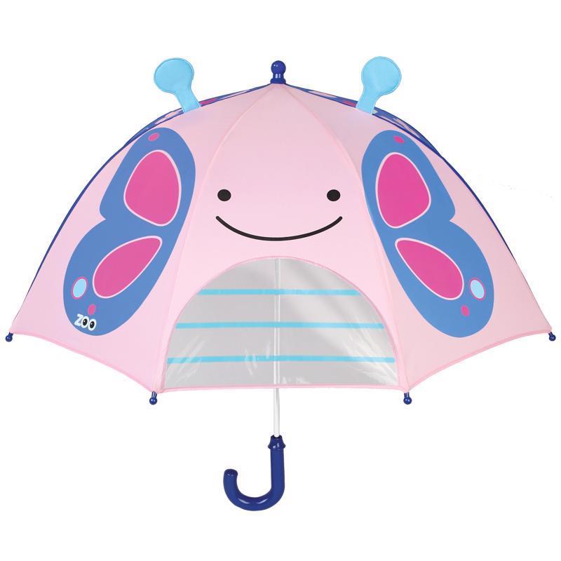 Zoo dáždnik s okienkom na výhľad Motýľ 3+