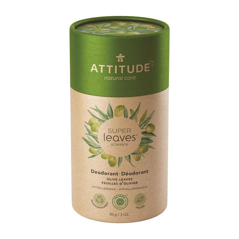 ATTITUDE Prírodný tuhý deodorant Super leaves - olivové listy 85 g