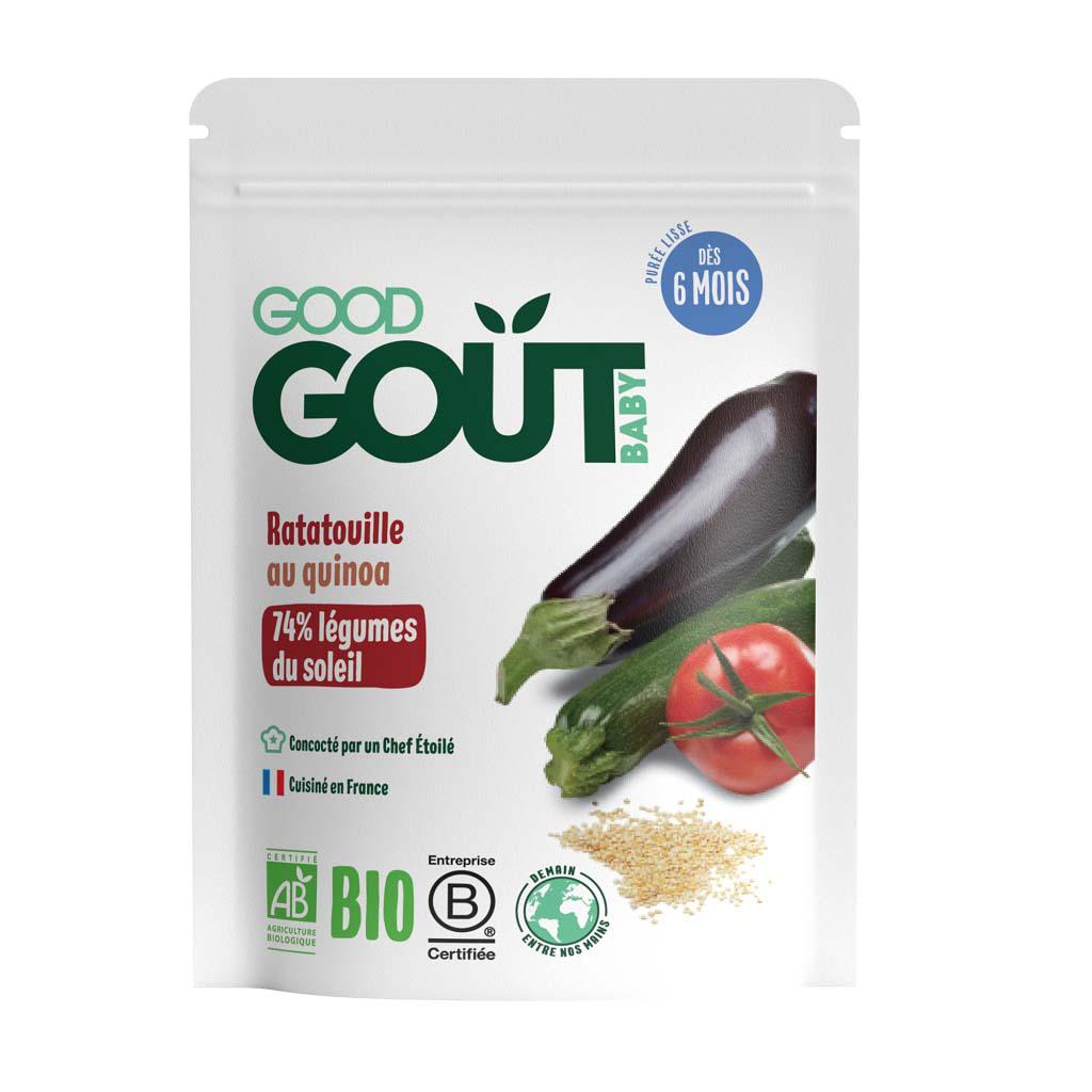 GOOD GOUT BIO Ratatouille s quinou 190 g