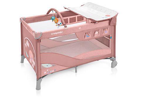 BABY DESIGN Postieľka cestovná Dream Pink 08