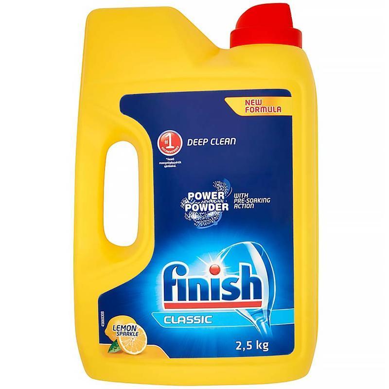 FINISH PowerPowder Prášok do umývačky riadu Citrón 2,5 kg