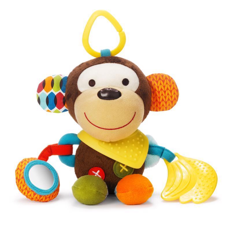Hračka na C kroužku aktivní Bandana Buddies Opička 0m+