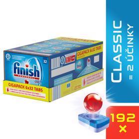 FINISH Classic GIGAPACK 192 ks - tablety do umývačky riadu