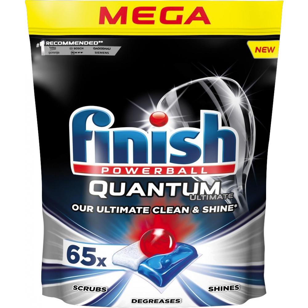 FINISH Quantum Ultimate - kapsule do umývačky riadu 65 ks
