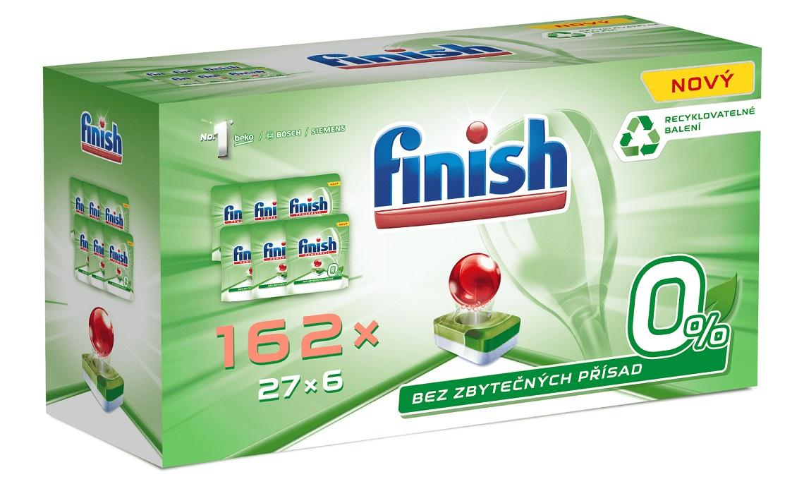FINISH 0% (162 ks) Gigapack – tablety do umývačky riadu