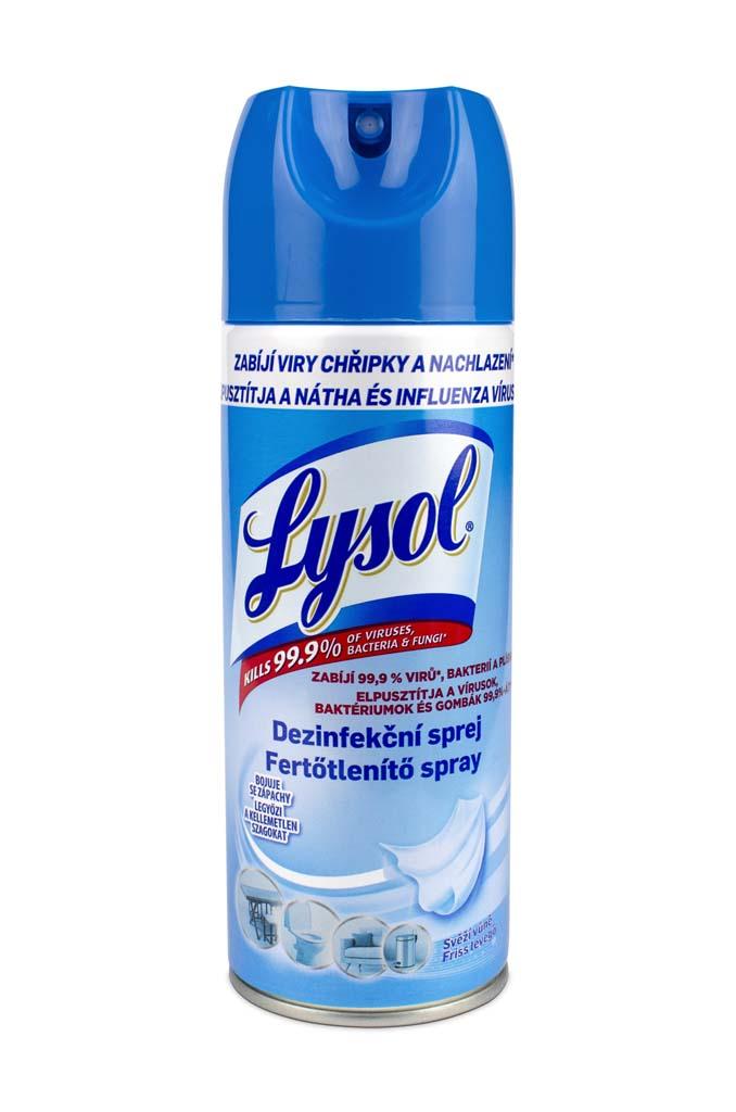 LYSOL Dezinfekčný sprej - svieža vôňa 0,4 l