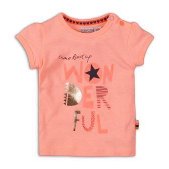 DIRKJE Tričko krátky rukáv C- SO FRESH WONDERFUL 68 Pink