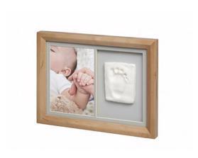BABY ART Rámček na odtlačky a fotografiu Tiny Touch Honey