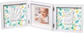 BABY ART Rámček na odtlačky a fotografiu My Baby Style - Simple Mr & Mrs Clynk