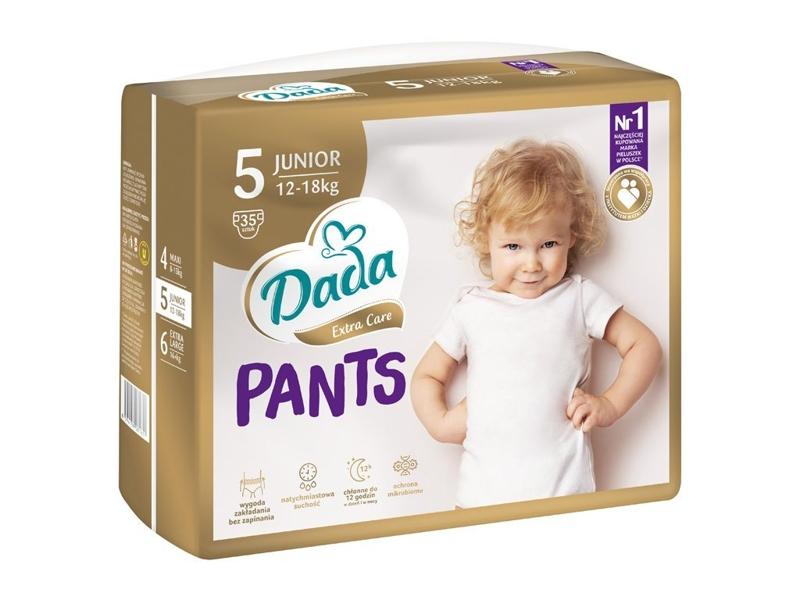 DADA Plienkové nohavičky Extra Care Junior (12-18 kg), 35 ks