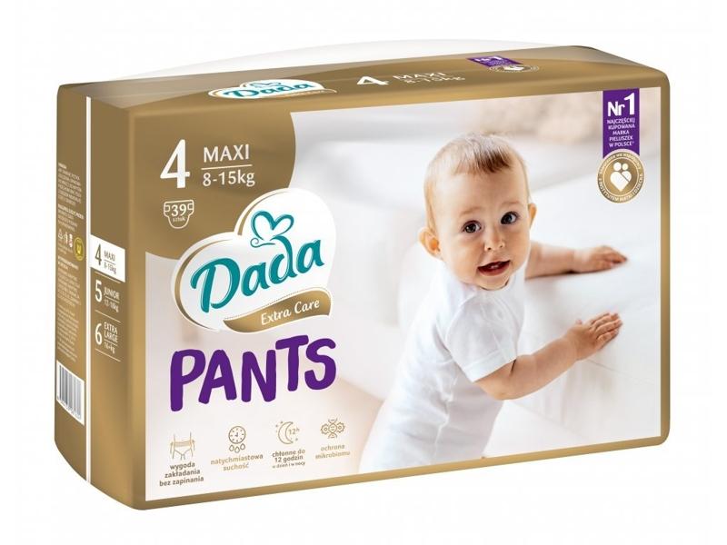 DADA Plienkové nohavičky Extra Care Maxi (8-15 kg), 39 ks