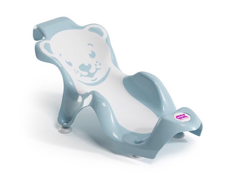 OK BABY Lehátko do vaničky Buddy svetlo modrá 55
