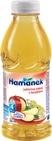 HAMÁNEK Nápoj Jablková šťava s fenyklom 500 ml