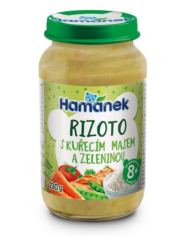 HAMÁNEK Rizoto s kuracím mäsom a zeleninou 230 g