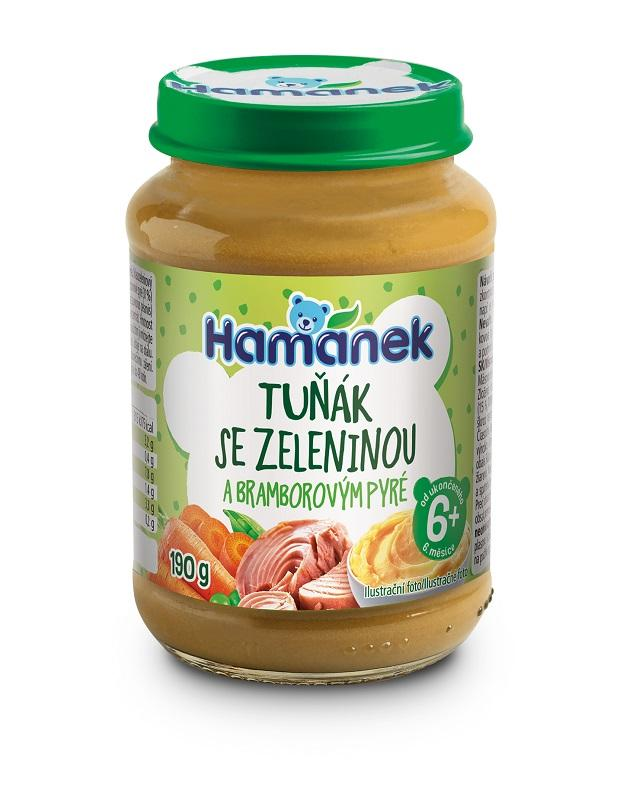 HAMÁNEK Tuniak so zeleninou a zemiakom 190 g