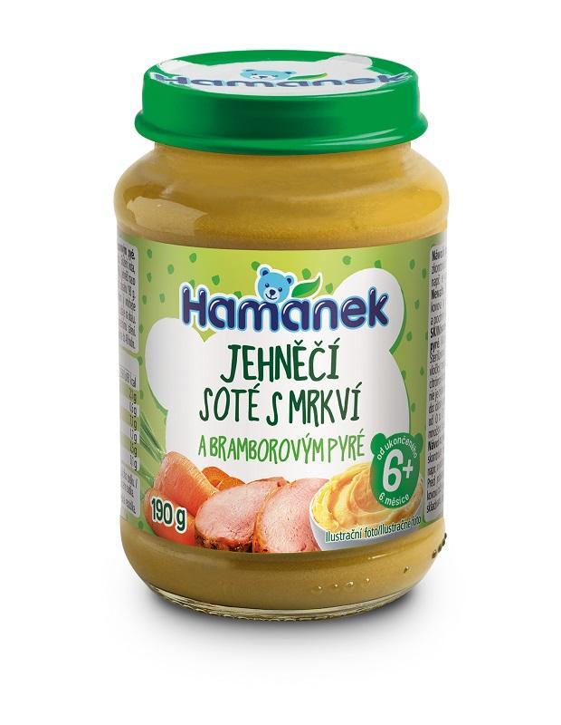 HAMÁNEK Jahňacie soté s mrkvou a zemiakovým pyré 190 g