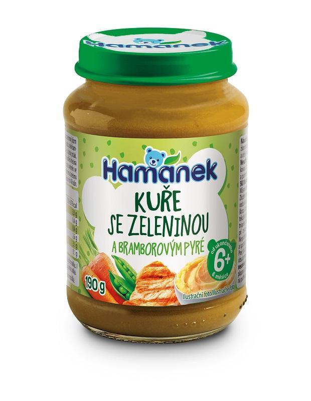 HAMÁNEK Kura so zeleninou a zemiakom 190 g