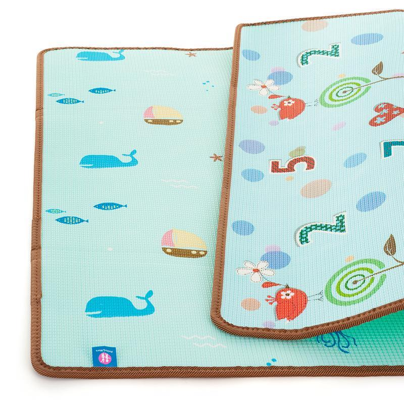 PETITE&MARS Podložka na hranie Joy 180 x 150 x 1 cm Nature