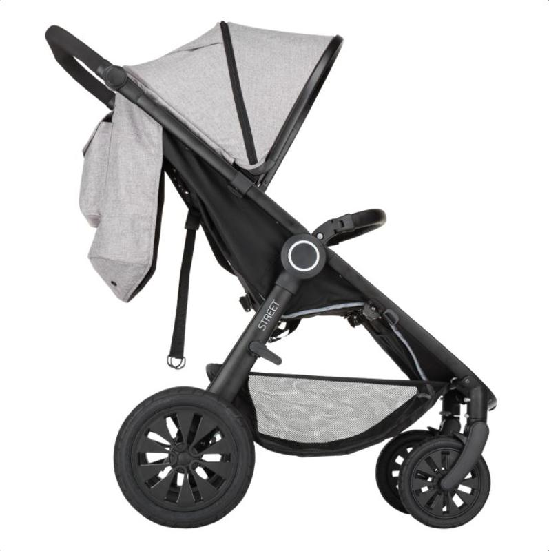 PETITE&MARS Kočárek sportovní Street Air Shadow Grey Complete