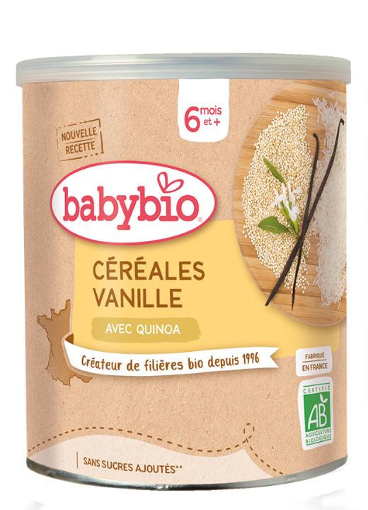 BABYBIO Kaša nemliečna rýžovoquinoová s vanilkou 220 g