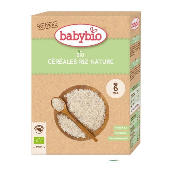 BABYBIO Kaša nemliečna Bio ryžová 200 g