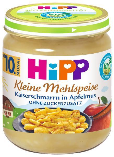 HiPP BIO Trhanec s jablkami od uk. 9. mesiaca, 200 g
