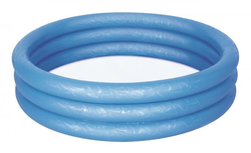 BESTWAY Bazén nafukovací modrý, 122 cm x 25 cm