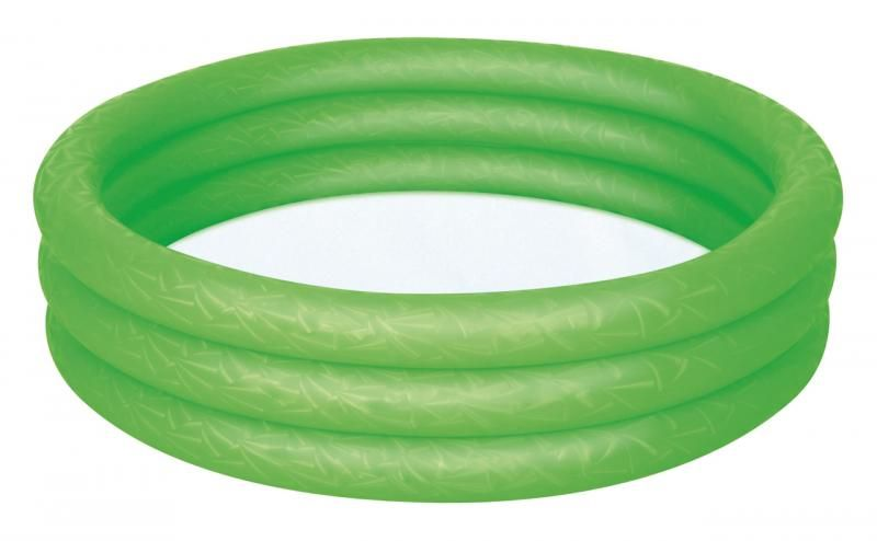 BESTWAY Bazén nafukovací zelený, 122 cm x 25 cm