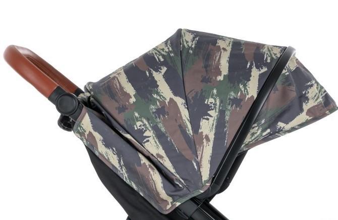 PETITE&MARS Strieška na kočík Street+ Limited 100 Camouflage