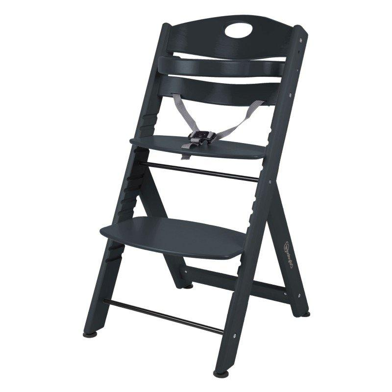 BABYGO Jedálenská stolička Family XL Black