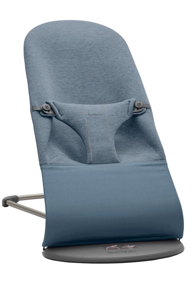 BABYBJÖRN Lehátko Bliss Dove Blue 3D Jersey