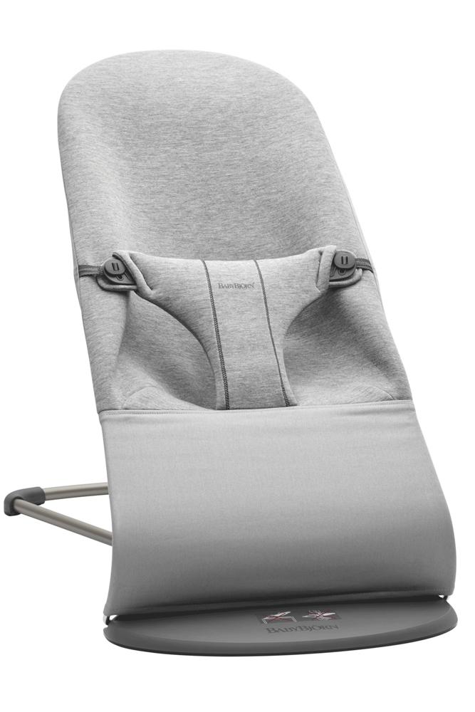 BABYBJÖRN Lehátko Bliss Light Grey 3D Jersey