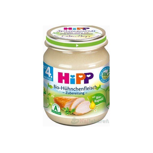 HiPP Príkrm mäsový BIO Kuracie mäso 125g