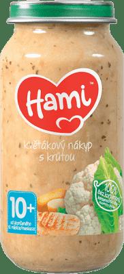 HAMI Príkrm mäsovo-zeleninový Karfiolový nákyp s morkou 250g