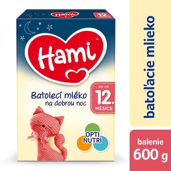 HAMI 12+ Na dobrú noc (600 g) – dojčenské mlieko