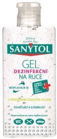 SANYTOL Dezinfekčný gél na ruky 75 ml