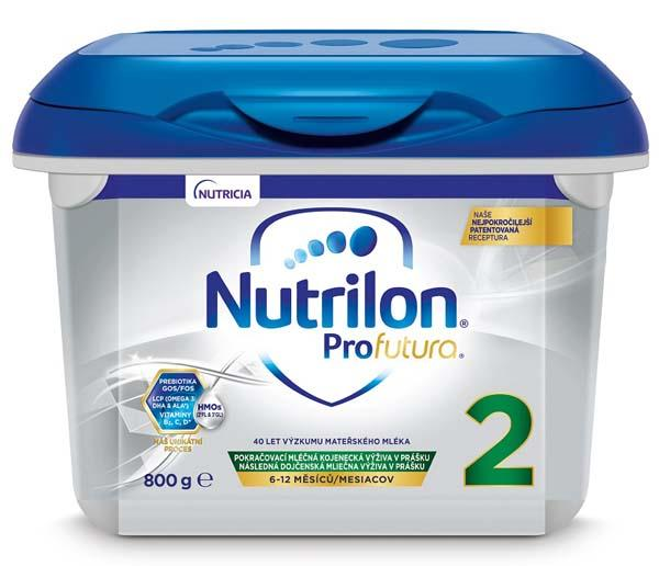 NUTRILON 2 Profutura pokračovacie dojčenské mlieko 800 g, 6+